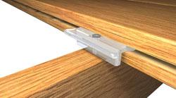Invisi fast hidden deck fastener biscuit fastener for Fiberon decking cost per square foot